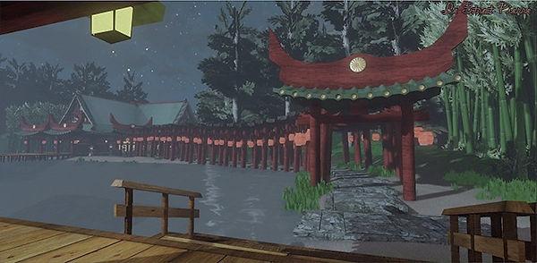 UDK 3D environment Japan