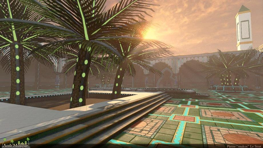 UDK 3D environment Oriental