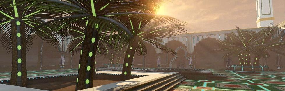 Arab Mosque 3D environment
