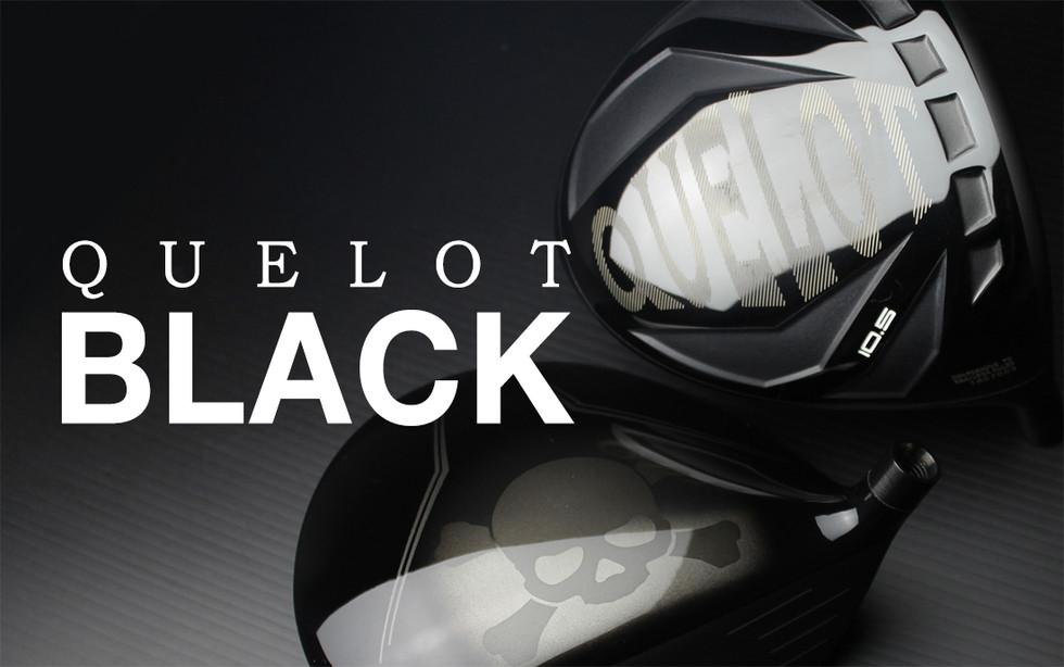 QUELOT BLACK 드라이버 헤드 출시!