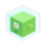 Monster bloc vert