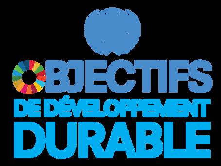 Les Objectifs de Développement Durable - la feuille de route pour un avenir plus responsable!