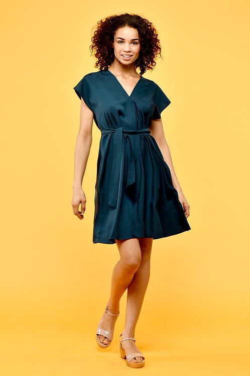 Viola dress onesize green