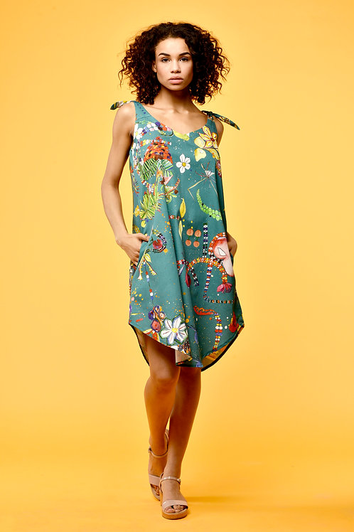 ALYSSA dress flowerparty