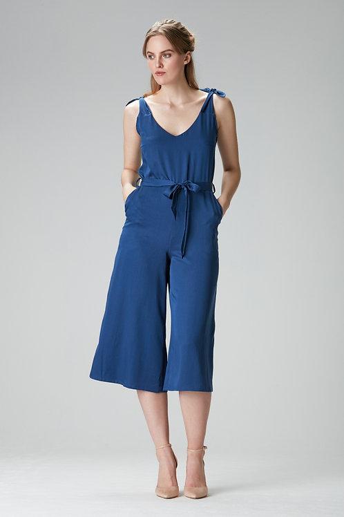 """Blue jumpsuit """"ELA"""""""