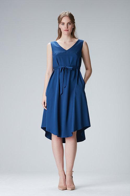 "Blue Tencel dress""Laura"""