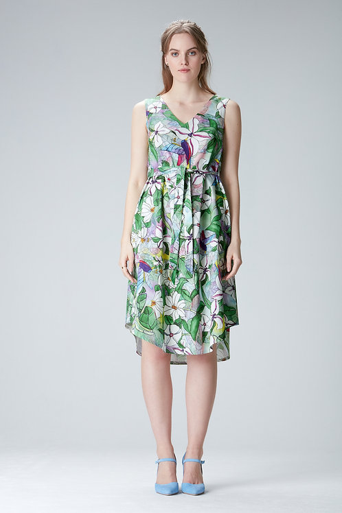 "Summer dress""Lotta"" made of tencel and organic cotton"