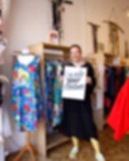 Ökomode, Ecofashion, flowerdress, Kleider aus Biomaumwolle, Blumenkleider