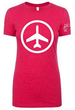 Shirt - SS - Red - Women