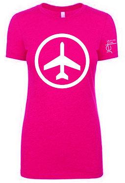 Shirt - SS - Pink - Women