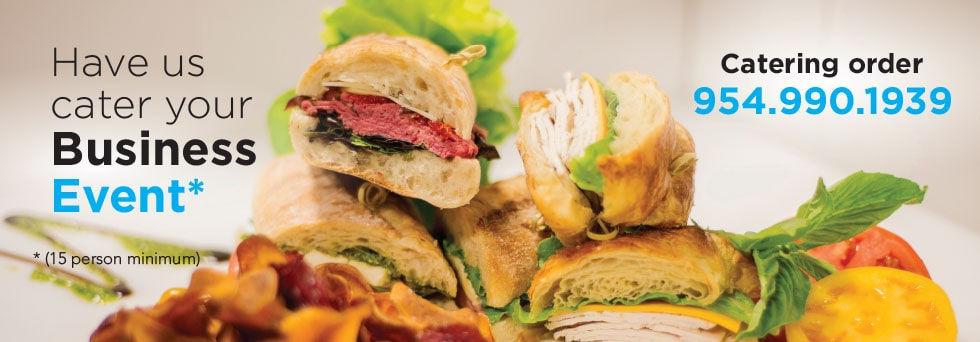 Jet Runway Cafe - Catering Menu - Header