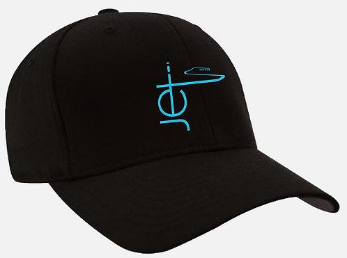 Hat - Black/Teal