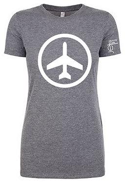 Shirt - SS - Gray - Women