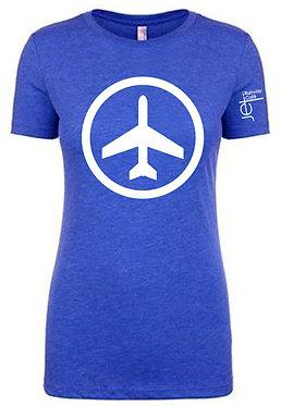 Shirt - SS - Blue - Women