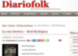 DiarioFolk. La Raiz Electrica. Agosto 18