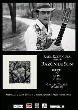 """""""Razón de Son"""" en la Sala Galileo Galilei de Madrid"""