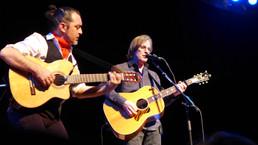 Jackson Browne y Raúl Rodríguez en el Festival Flamenco de Nueva York