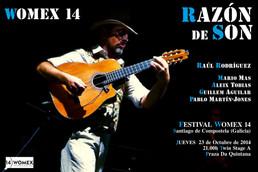 Próxima cita: Womex 2014. Santiago de Compostela