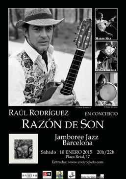 """""""Razón de Son"""" en el Jamboree Jazz Club de Barcelona"""