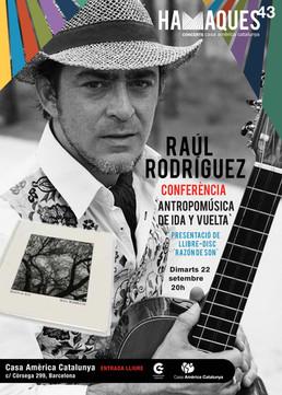 Conferencia en Barcelona: AntropoMúsica de Ida y Vuelta