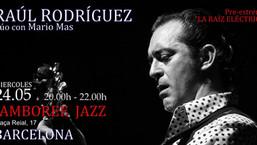 Concierto en Jamboree Jazz (Barcelona): 24 de mayo
