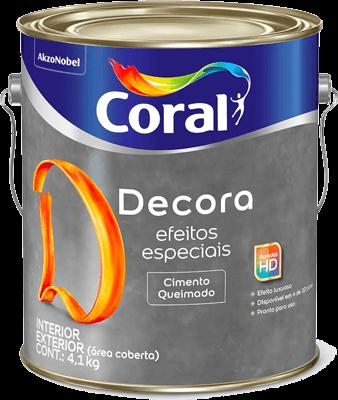 Coral - Decora Cimento Queimado