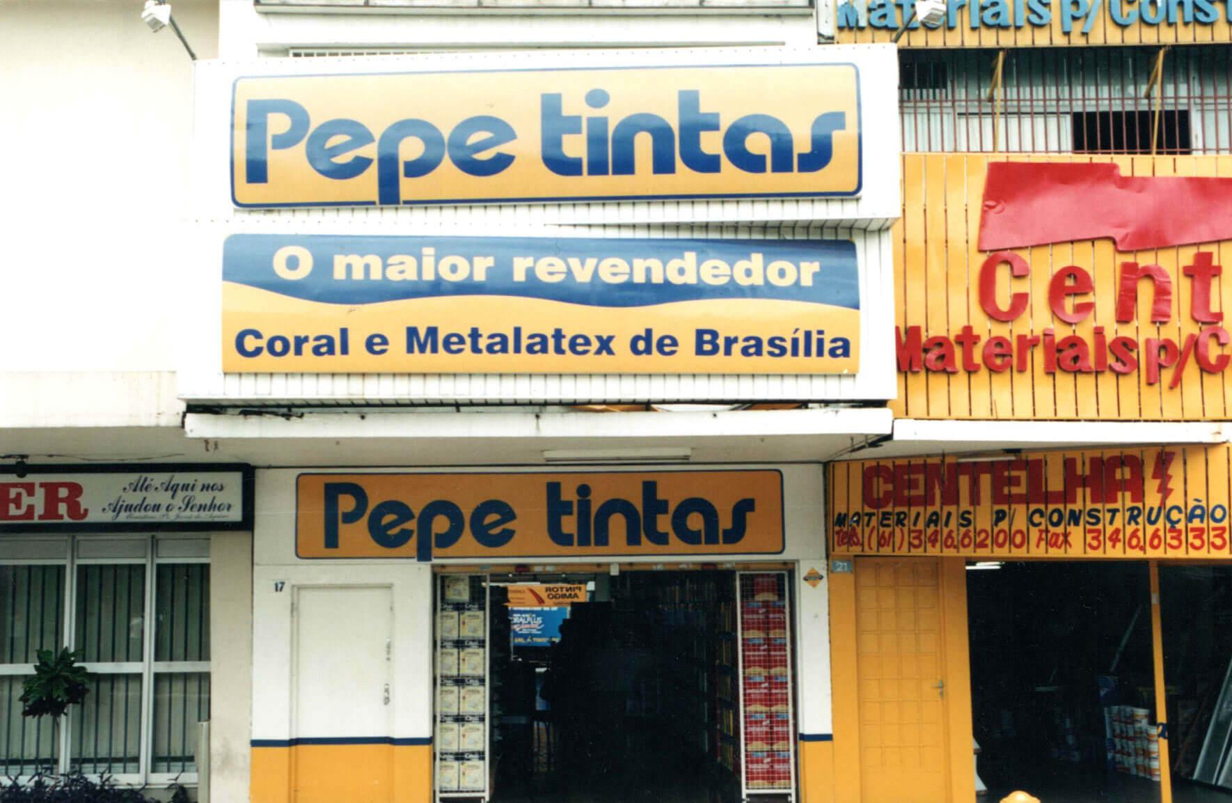 Fotos do Baú Pepe Tintas