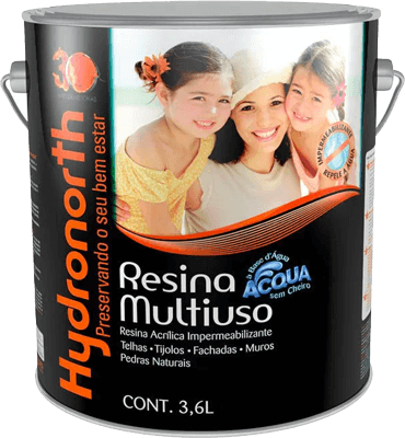 Hydronorth - Resina Multiuso Acqua Color