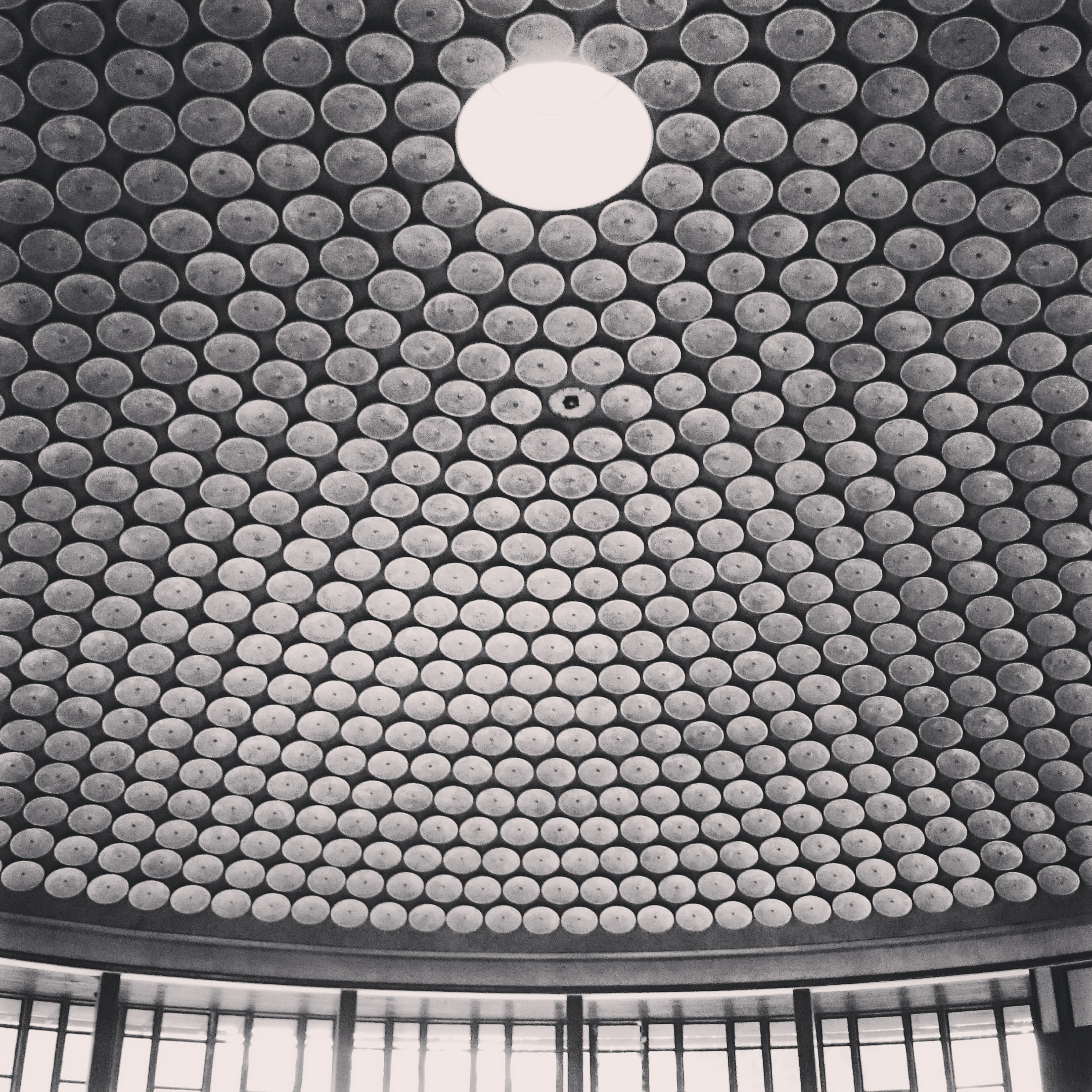 Rotunda Ceiling | Park Station