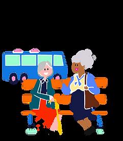 sortie aîné et bénévole
