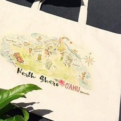 North Shore O'ahu Classic Tote Bag