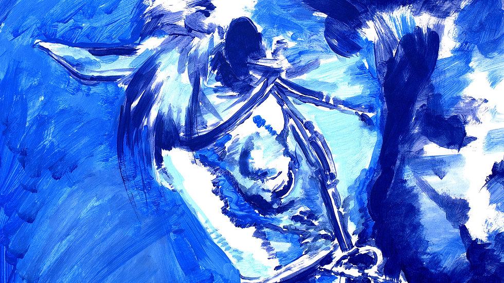 """Blue Vapor"""