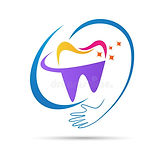 happy-dental-medical-care-logo-vector-dr