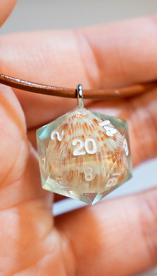 D20 Shell Necklace