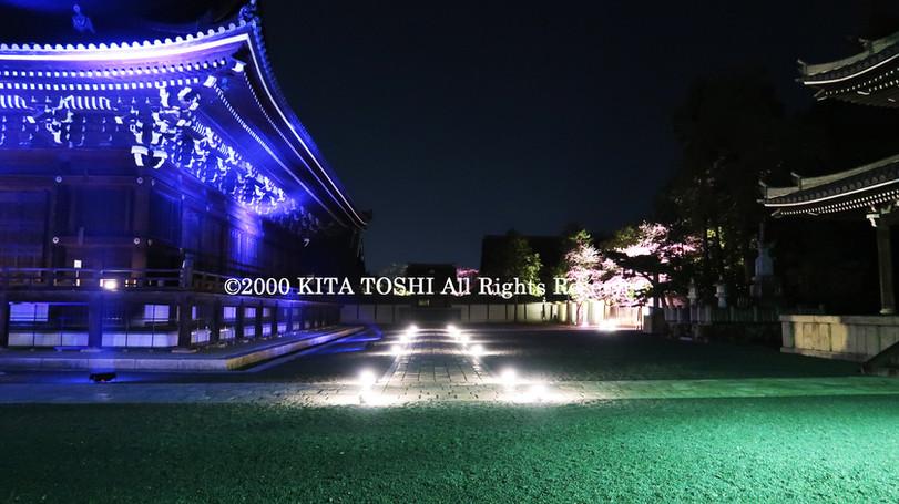寺院ライトアップデザイナー作品Ci21-26 KITA TOSHI照明デザイナー