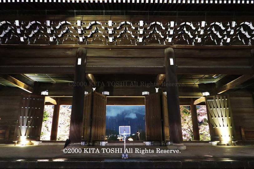 寺院ライトアップデザイナー作品Ci21-36 KITA TOSHI照明デザイナー