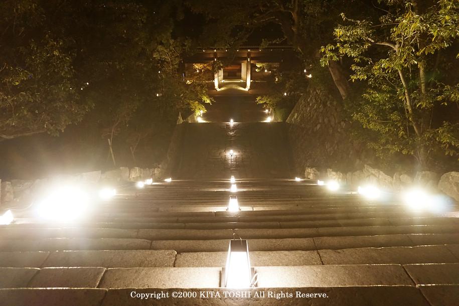 Lighting designer Kitatoshi's work (light-up design)