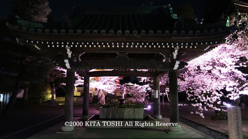 寺院ライトアップデザイナー作品Ci21-22 KITA TOSHI照明デザイナー