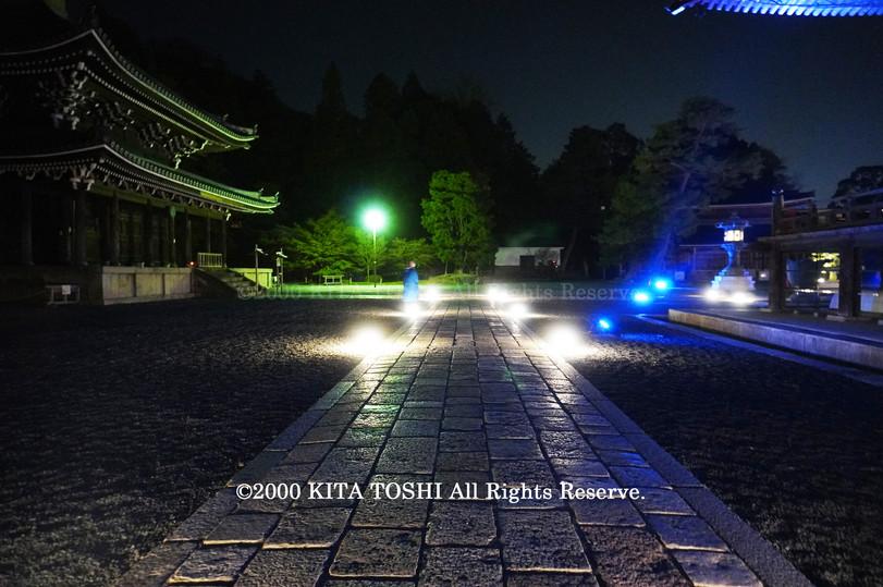 Temple Light-up Designer work Ci21-8 KITA TOSHI