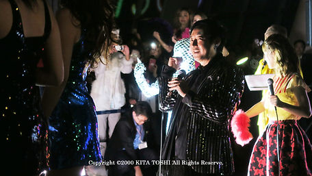 Lighting designer KITA TOSHI who designed and supervised the production of mirror ball suits / Work No.5