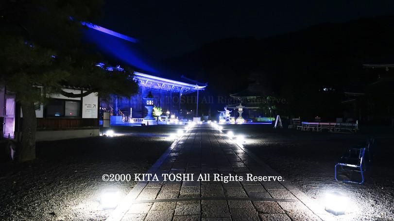 寺院ライトアップデザイナー作品Ci21-32 KITA TOSHI照明デザイナー