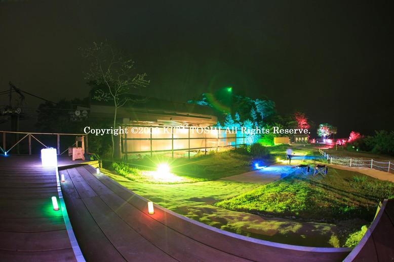 Lighting designer Kitatoshi's work (Examination light-up design)