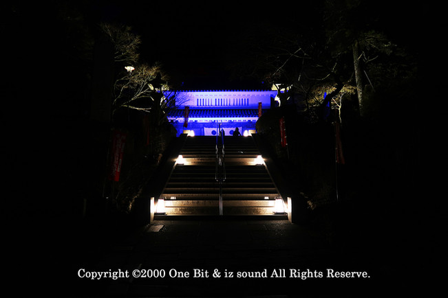 Temple Light-up DesignY7 KITA TOSHI