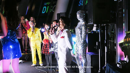 Lighting designer KITA TOSHI who designed and supervised the production of mirror ball suits / Work No.1