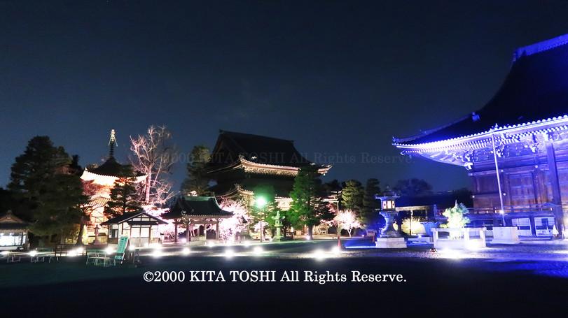 寺院ライトアップデザイナー作品Ci21-25 KITA TOSHI照明デザイナー