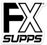 FX SUPPS Stickers