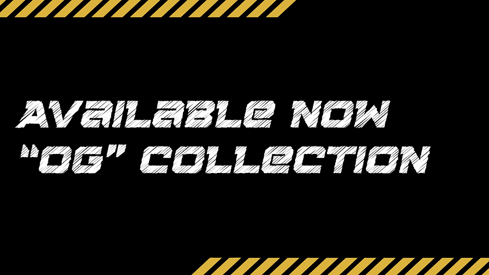 OG Collection Apparel Launch- Website Ba