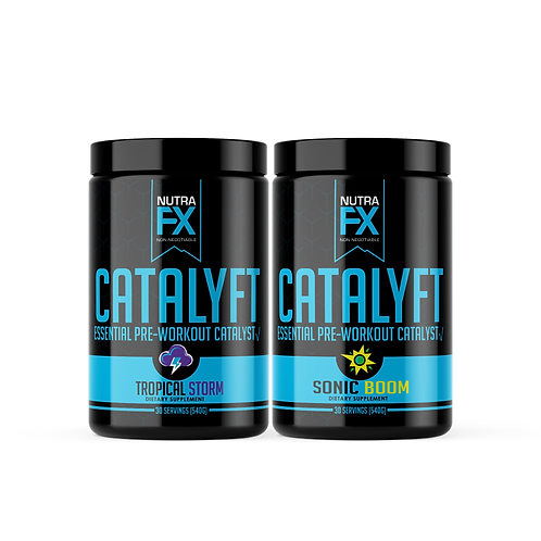 Catalyft- Pre Workout 2 Pack