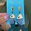 Thumbnail: Fish earrings by Hearts Ceramics