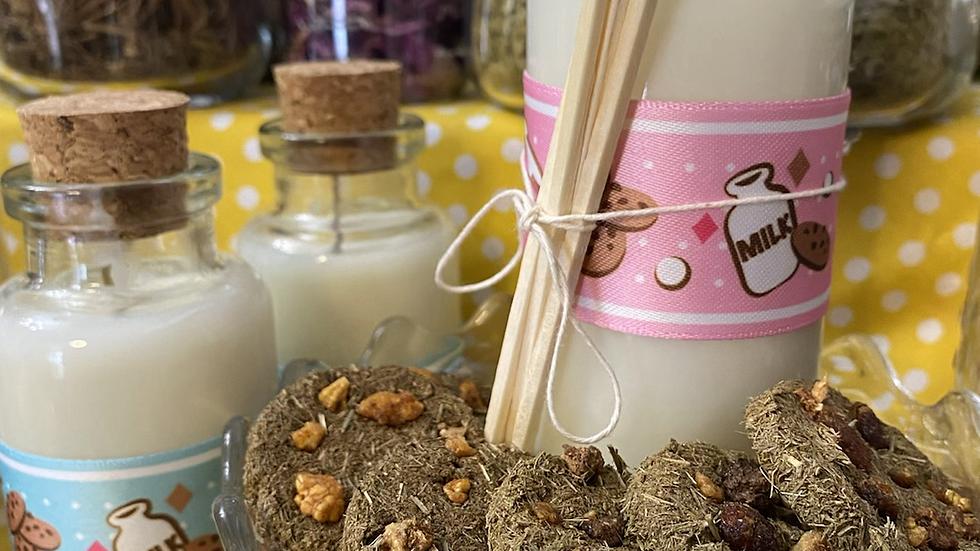 Milk & Cookies Candle & Incense set